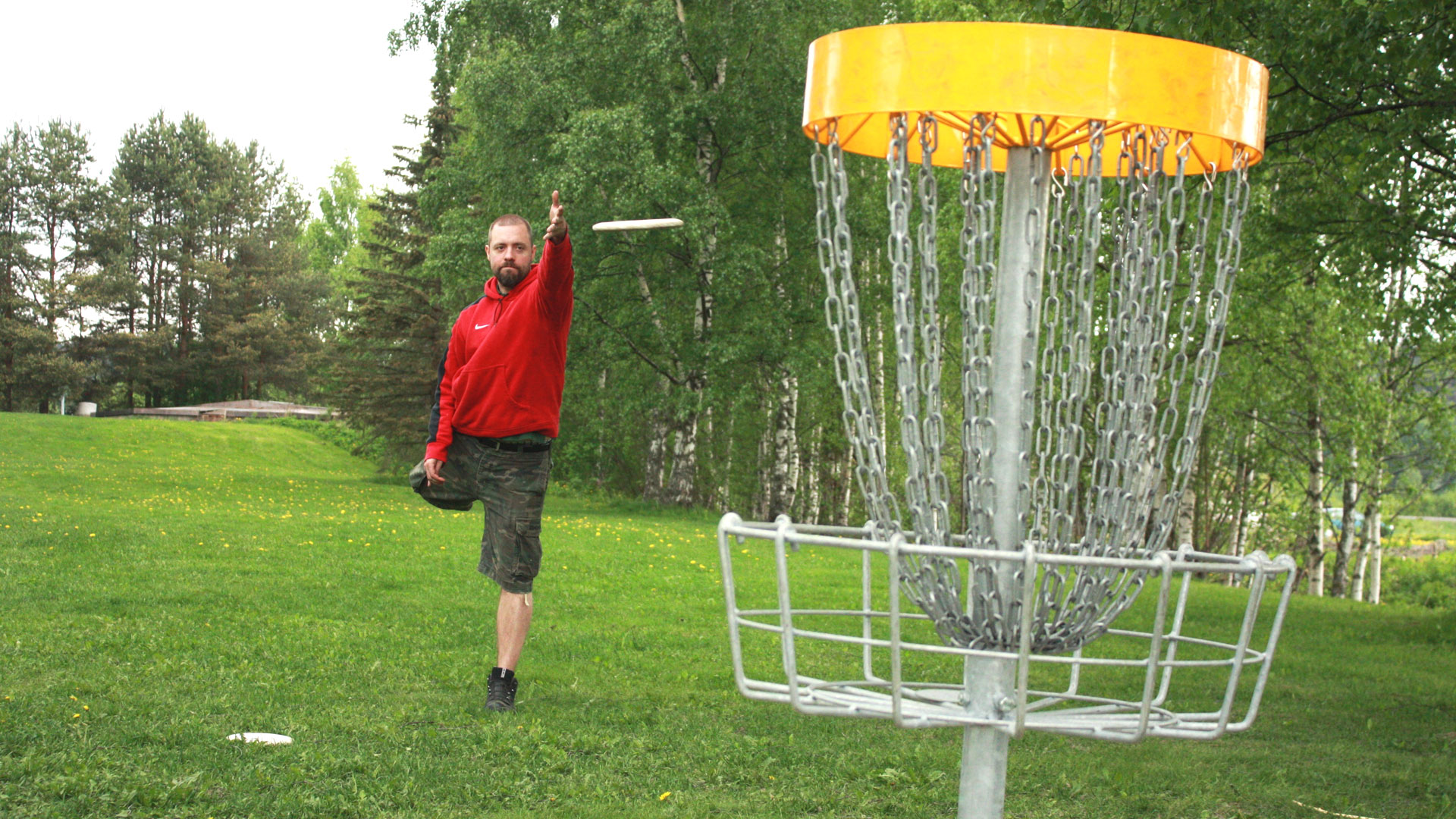 Frisbeegolf BB-Event